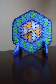 Perler Bead Clock by Jackie Boy