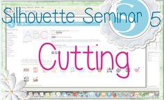 Silhouette Seminar #5 - Cutting