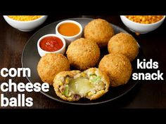 corn cheese balls recipe, how to make sweet corn & veg cheese balls with step by step photo/video. veg & cheese-based snack known for its cheese burst. Veg Cheese Balls Recipe, Cheese Ball Recipes, Aaloo Recipe, Chaat Recipe, Momos Recipe, Corn Snacks, Easy Snacks, Sweet Corn Recipes, Snack Recipes