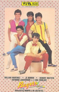 Sikat in the : Bagets style- bow ties, chucks, sweater vests, and all the neon flash. Calling all bagets, share your pictures with us! 80s Fashion Men, Movie Titles, Movie Posters, Philippines Culture, Manila Philippines, Filipino Fashion, High School Love, Childhood Memories 90s, Filipino Culture
