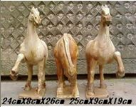 Antique furniture Chinese ceramic horse statues