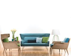 My Comfort Zone: Living Room Contemporary Couch Sofa ~ Decoration Inspiration Contemporary Couches, Couch Design, Wing Chair, Teal Colors, Comfort Zone, Love Seat, Armchair, Living Room, Tango