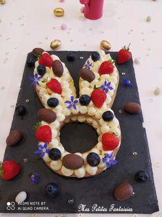 Doughnut, Desserts, Food, Whipped Cream, Edible Flowers, Shortbread, Blueberries, Rabbits, Tailgate Desserts