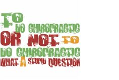 What a stupid question indeed! - Katella Chiropractic & Laser Center, Orange, CA
