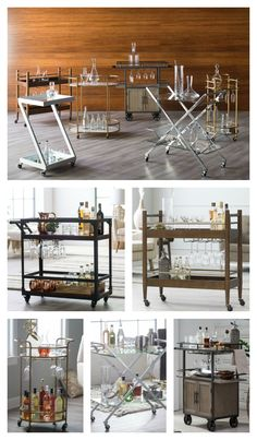 Make sure every cocktail party at your house is Gatsby-approved! Shop stylish bar carts at hayneedle.com and receive FREE shipping on your order!
