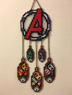 8Bit Avengers Dreamcatcher featuring Heroes from the Avengers