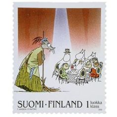 The theatre rat meets the Moomins - I love this story. Charley Harper, Tove Jansson, Libros Pop-up, Postage Stamp Art, Arthur Rackham, Envelope Art, Beatrix Potter, Mail Art, Stamp Collecting
