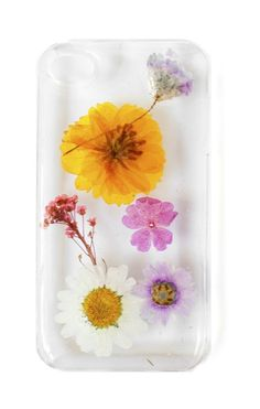 This case was handmade from pressed flowers www.mooreaseal.com