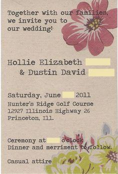 cute invite
