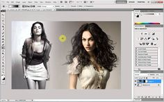 Adobe Photoshop - Image Blending Tutorial