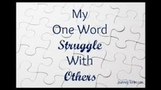 """Right now at LifeLetter Cafe ... """"Lord, thank you for the gift of OTHERS .. @Journey_To_Him   Read & refresh-forward Pamela and """"When We Struggle to Love OTHERS"""" here .."""