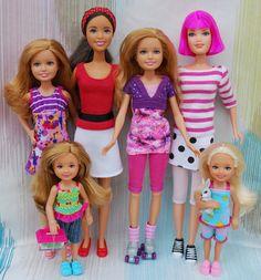 Nenca - zberateľské barbie a tvorba: Mattel Kids