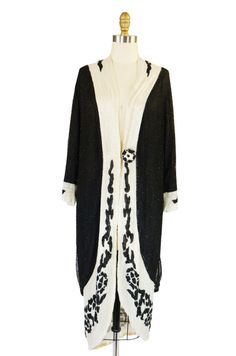 1920s Fully Beaded Cocoon Flapper Coat