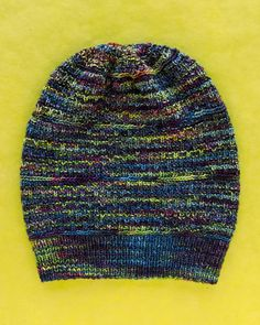 Bedford is a cute slouchy hat in brich stitch, designed by Christina  Behnke, using 93c11923d75