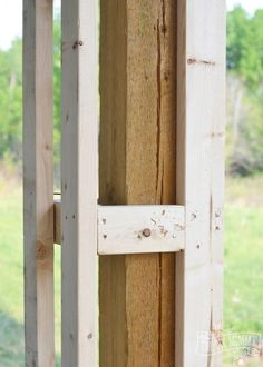 How to build DIY craftsman porch columns Improve your curb appeal with some DIY Porch Columns. Here is how we made ours to compliment our DIY Craftsman Foursquare home!