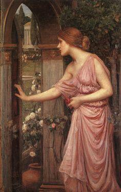 Psyche Entering Cupid's GardenJ. W. Waterhouse1904
