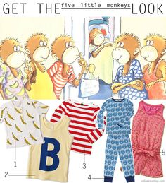 Get the Look - Five Little Monkeys   Let's do a Boutique like this!