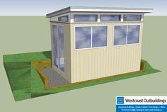8' x 12' Lifestyle Prefab Backyard Office