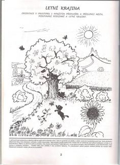 léto Teaching English, Coloring Pages, Vintage World Maps, Seasons, Kids, Quote Coloring Pages, Young Children, Boys, Seasons Of The Year