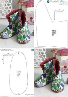 Best 12 Baby boots – Page 498492252485376872 Sewing Clothes, Diy Clothes, Sewing Slippers, Felted Slippers Pattern, Clothing Patterns, Sewing Patterns, Shoe Pattern, Fabric Shoes, Crochet Shoes