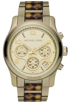 Take a look at this Gold   Tortoise Runway Chronograph Watch - Women on  zulily today! WatchHub · Michael Kors 12abc3dafa