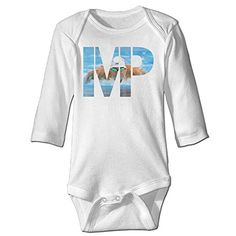 Babys Boys  Girls Funnies Michael Phelps Swimming T Shirt White Size 12 Months >>> Visit the image link more details.