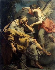 Gaetano Gandolfi: El sueño de José, 1790.