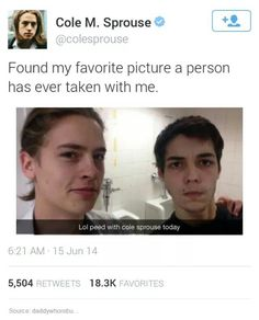 I love the Sprouse brothers