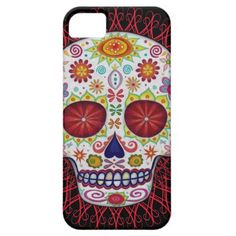 Sugar Skull iPhone SE/5/5S Case