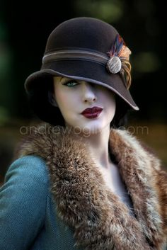 Cool and sexy vintage hats