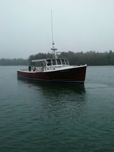 Lobster boat Johns Bay Boat Company