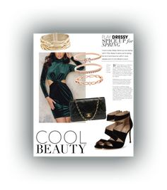 """#16"" by emmyhorne on Polyvore featuring WithChic, Carvela, Chanel, Accessorize and Rosantica"