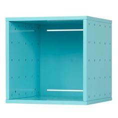 Large Cubby Cube Wall Shelf (Aqua)