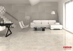 ¿Pensando en renovar tu #salón? Tolum + Odin= combinación perfecta. Thinking about updating your #living area? Tolum+ Odin= perfect combination. #PamesaCerámica #decoración #interiorismo #azulejo #decor #interiordesign #tiles #home #trend