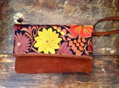 handbag leather embroidered clutch bag by ColorsOfEtnika on Etsy