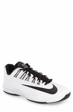 12 Men Tennis Outfits ideas to have a perfect match! Men's Shoes, Nike Shoes, Sneakers Nike, Tennis Clothes, Tennis Outfits, Nike Slippers, Nike Lunar, 12th Man, Tennis Players