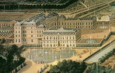 Painting of the Chateau of St Cloud.