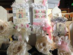 Cute paper Displays and Roses