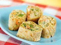 Totilla Rounds/Pinwheels - Faux Sushi