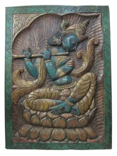 Hey, I found this really awesome Etsy listing at https://www.etsy.com/listing/203945938/hand-carved-wood-wall-art-plaque-fluting