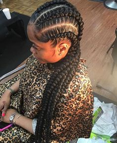 STYLIST FEATURE| Love these #goddessbraids styled by #detroitstylist @geminitwinshauwny ❤️ So neat #voiceofhair ✂️========================== Go to VoiceOfHair.com ========================= Find hairstyles and hair tips! =========================