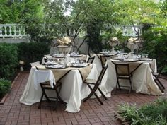 Beautiful outdoor party