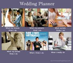 wedding planner what I do
