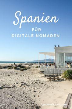 Spanien für digitale Nomaden hat viel zu bieten: Es ist für europäische Verhältnisse günstig, das Internet ist ok und mit Sonne, Strand und Meer bietet das Land ein perfektes Arbeitsumfeld für kreative Köpfe auf der Suche nach Work-Life-Balance.