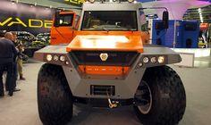 8 wheels vehicle - 125 000 euro