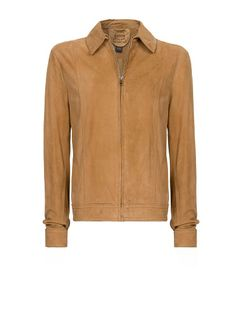 MANGO - Suede jacket