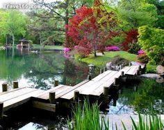 Japanese Garden at Maymont Park, Richmond, VA