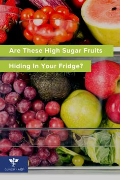 Healthy Fruits, Healthy Drinks, Healthy Snacks, Healthy Recipes, Health Diet, Health And Nutrition, Health And Wellness, High Sugar Fruits, Plant Paradox Diet