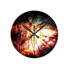Fantasy Starry Forest 2 Round Clock