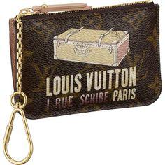Louis Vuitton M60246 Monogram Canvas Key and Change Holder Khaki
